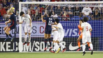 サッカー女子、米国に敗れ3連敗 国際親善大会 画像1