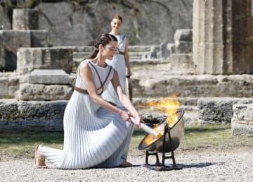 聖火、古代文明の舞台巡り日本へ ギリシャ国内を8日間リレー 画像1