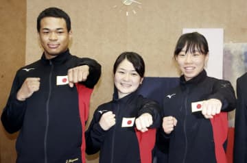 ボクシング、並木月海ら帰国 五輪決定「女子を有名にしたい」 画像1