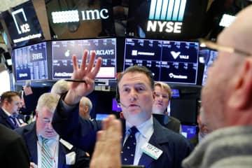 NY株反発、1985ドル高 コロナ非常事態で上げ最大 画像1
