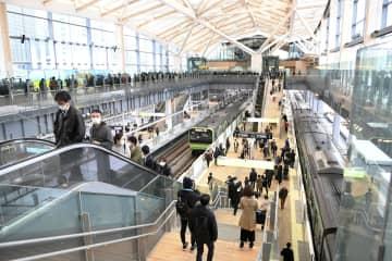 山手線新駅に5万4千人 開業日、切符行列3時間半 画像1