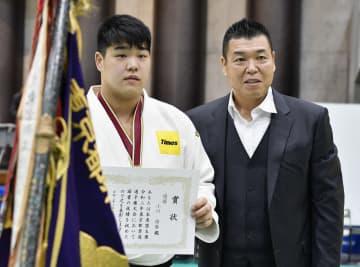 柔道、小川が優勝し全日本へ 東京都選手権 画像1