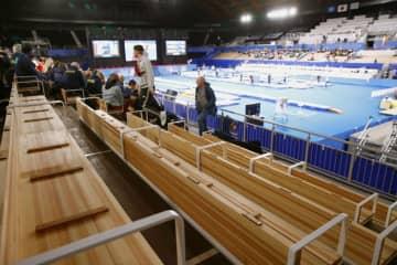 体操の東京W杯、無観客で準備 新型コロナ対策で 画像1