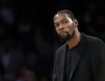 米NBA4選手に陽性反応 デュラント含むと米報道 画像1