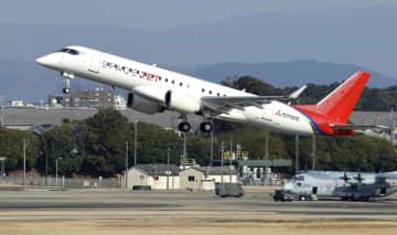 三菱の最新試験機が初飛行 認証取得向け国産ジェット 画像1