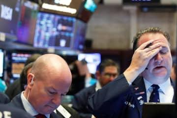 NY株大幅反落、2万ドル割れ 1338ドル安、コロナ不安 画像1