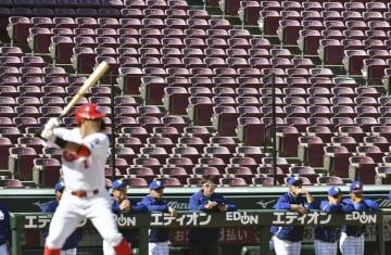 プロ野球、新型コロナで球春遠く 歓声無く開幕予定日迎える 画像1