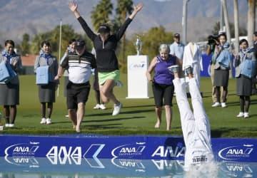 米女子ゴルフ、4月のツアー延期 ANAは9月に開催 画像1