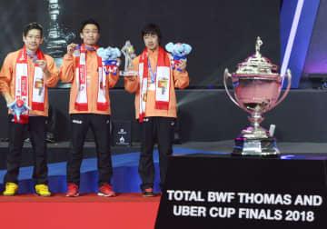 バドのトマス杯、ユーバー杯延期 世界連盟、8月開催に 画像1