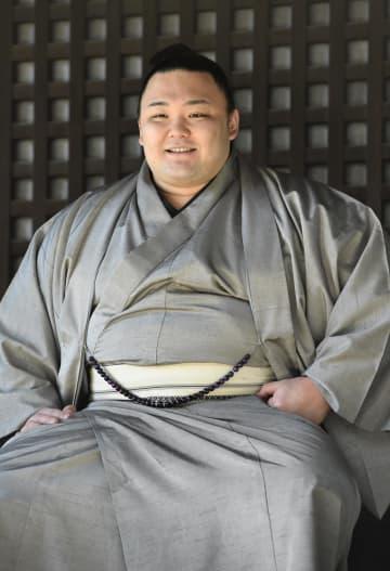 朝乃山「新たなスタート」と心境 大関確実で、25日に正式昇進 画像1