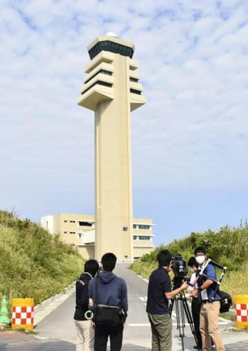 那覇空港第2滑走路、26日開始 沖合に建設、報道陣に公開 画像1