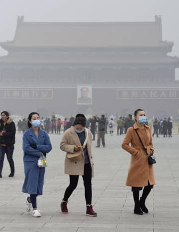中国、大気汚染改善で死者大幅減 コロナで経済活動が停滞 画像1