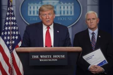 米、コロナで関係国と連携強化 トランプ大統領 画像1