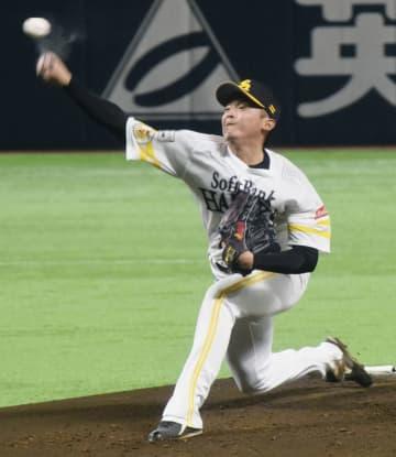 ソフトバンク東浜「体は元気」 2週間ぶりに打者へ投球 画像1