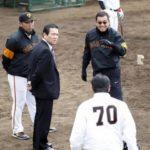 巨人2軍が川崎で練習と紅白戦 神奈川県知事ら外出自粛要請中 画像1