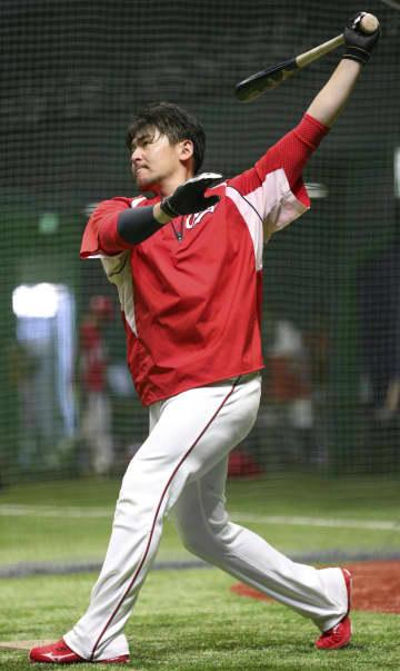 広島の会沢、精力的に動くも葛藤 「練習をしていいのか」 画像1