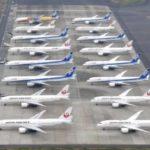 大量欠航、旅客機に出番なし 羽田空港に駐機の列 画像1