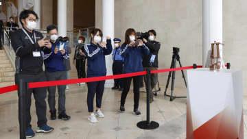 福島、聖火一般公開8日から中止 5月以降の県外展示は未定 画像1