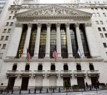 NY株反落、26ドル安 原油安で景気警戒 画像1
