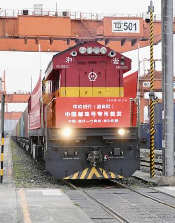 中国とEU結ぶ郵便列車運行開始 航空便減少補う 画像1