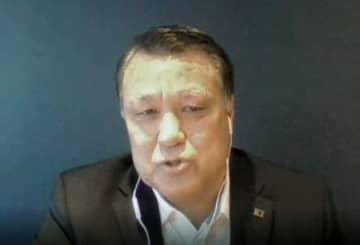 田嶋会長、医師らは「日本代表」 サッカー協会、コロナから復帰 画像1