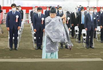 日本ハム新球場が起工式、北海道 栗山監督感動「よくここまで」 画像1