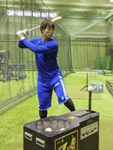 DeNA中井「体しっかり準備」 オープン戦で高打率、好調維持へ 画像1