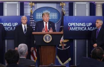 米、経済再開へ3段階で指針公表 時期は各州が判断 画像1