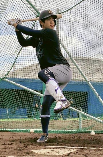 オリ太田「開幕延期はチャンス」 2年目内野手、キャンプ中にけが 画像1