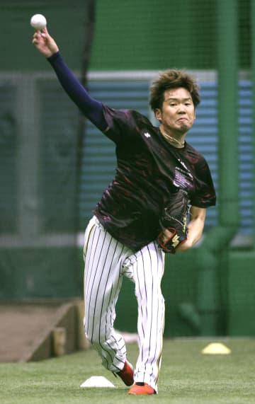 阪神の西勇輝「開幕投手の責任」 球団施設で自主練習 画像1