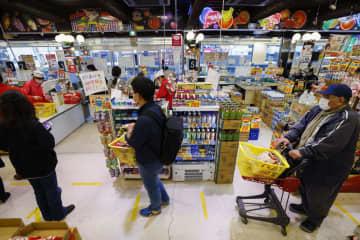 3月のスーパー売上高0.8%増 感染拡大、買いだめ需要で 画像1
