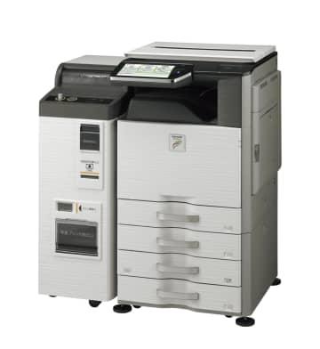 コンビニ印刷の登録料を無料に シャープの企業向けサービス 画像1