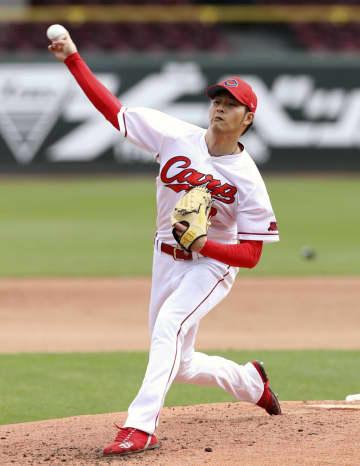 広島の薮田、160キロ目指す 「投球の幅広げる」 画像1