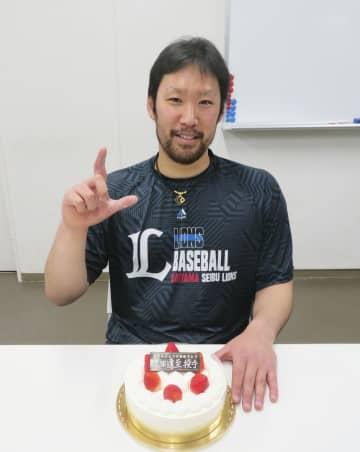 西武の増田投手が32歳の誕生日 「早く開幕を」、体づくりに尽力 画像1
