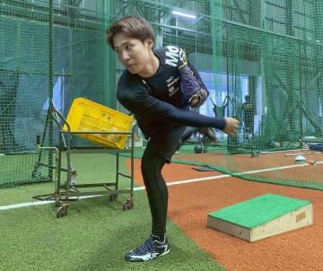 オリ村西、投球フォームを修正 3位新人の右腕、肉体強化も 画像1