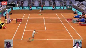 錦織がオンラインゲームで健闘 テニス慈善大会 画像1