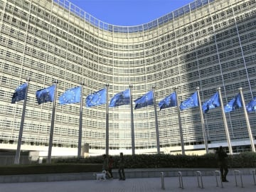 ユーロ圏GDP予測、7.7%減 2020年、過去最大の下落率 画像1