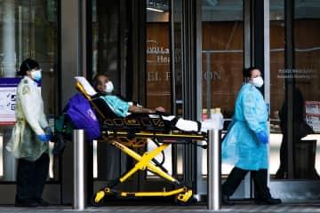 新規入院の8割は非就労者 米NY州、3日間調査 画像1