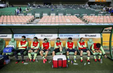 サッカーKリーグ、無観客で開幕 韓国、野球に続き 画像1
