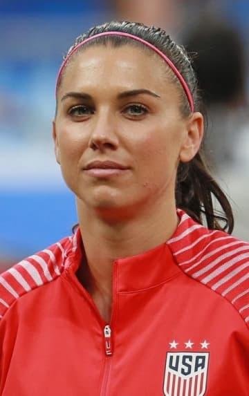 サッカー女子、モーガンが出産 第1子、W杯の米2連覇に貢献 画像1