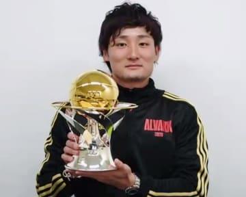バスケ、A東京の田中が初MVP Bリーグ表彰式 画像1