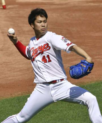 広島、藤井皓「体を大きく使う」 6年目、球威向上へ 画像1