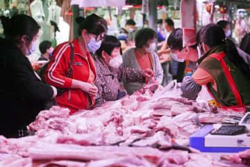 中国、4月の卸売物価が急落 感染拡大、4年ぶりの低水準 画像1