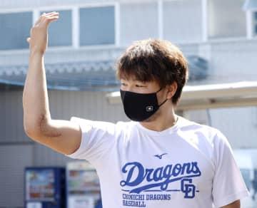 中日の田島「ここまで順調」 4月に右肘手術 画像1