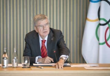 IOC五輪延期で860億円拠出 バッハ会長、会見で表明 画像1