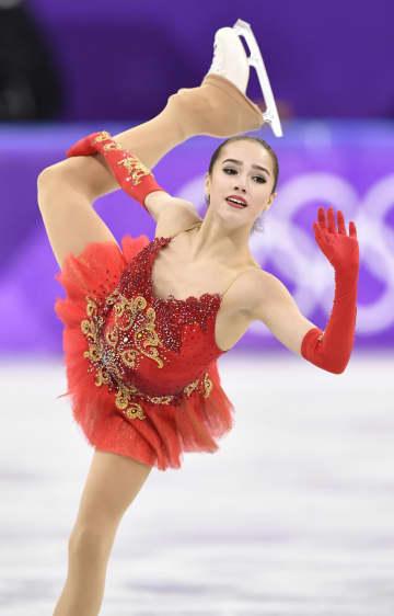 ロシア、ザギトワを強化指定 フィギュア平昌五輪金の17歳 画像1