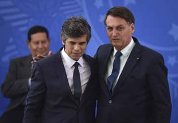 ブラジル保健相また更迭 コロナ治療薬巡り大統領と対立 画像1