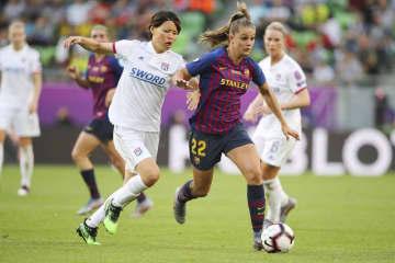 女子サッカー、リヨンが14連覇 熊谷が所属、フランス1部 画像1