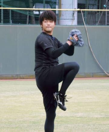 阪神の高橋、レベルアップに励む 他球団の左腕投手参考 画像1