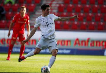 サッカー、Bミュンヘンが白星 再開の独1部リーグ 画像1